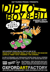 OAF-DIPLO-8BIT (mark-chronic) Tags: boy party art design flyer factory bart oxford 8bit simpson diplo oaf bradstorch