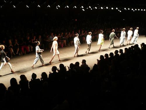 Flickr catwalk image