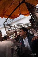 Market place (Matteo Cecchinato) Tags: arab yemen sanaa matteo mercato viaggio citt popoli ombrellone cecchinato