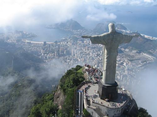 巴西里約熱內盧的基督山