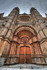 Palma de Mallorca cathedral (5ERG10) Tags: door church sergio archi