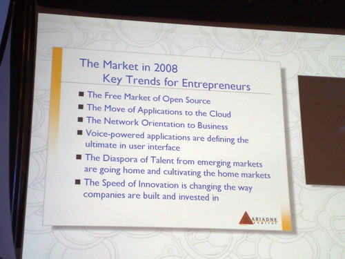 Julie Meyer @eday keytrends voor entrepreneurs