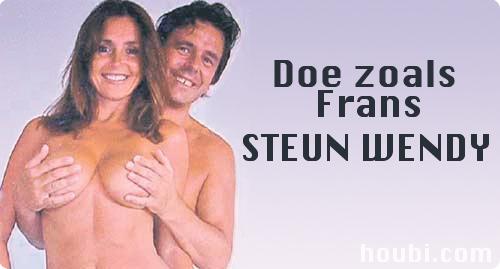 Doe zoals Frans, Steun Wendy