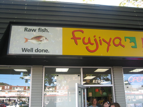 Fujiya Sushi in Victoria