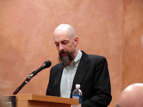 Neal Stephenson reading from Anathem