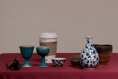 Sake Cups and Starbucks
