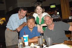 Tom, Steve, Me, Dom