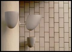 At the Gas station (Kirsten M Lentoft) Tags: white wall denmark design arnejacobsen gasstation tiles lamps skovshoved strandvejen impressedbeauty thatsclassy theperfectphotographer kirstenmlentoft