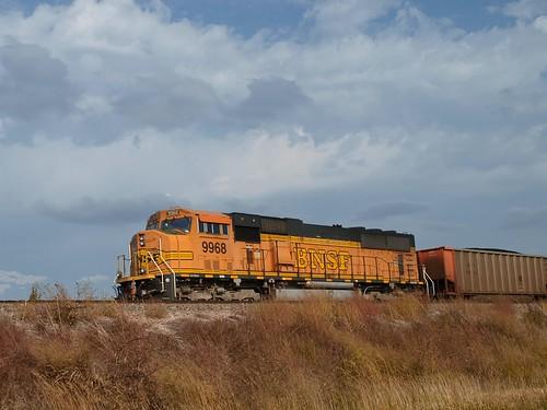 Orange Train Engine