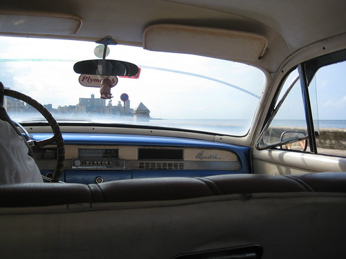 A ride in a Plymouth