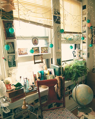 (yyellowbird) Tags: windows plants design globe bedroom chair apartment interior decoration objects lotsofthings