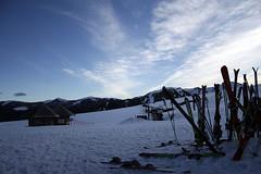 ([ - we love gravity - ]™) Tags: snow volcano fiesta nieve paragliding 2008 cierre temporada parapente volcan lonquimay corralco