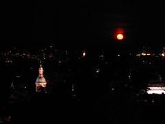 2007 07 01 - 0578 - Graz - View from Schlossberg (thisisbossi) Tags: moon night austria österreich graz moonillusion