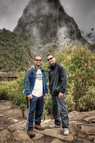 Me & Greg in Front of Wayna Picchu