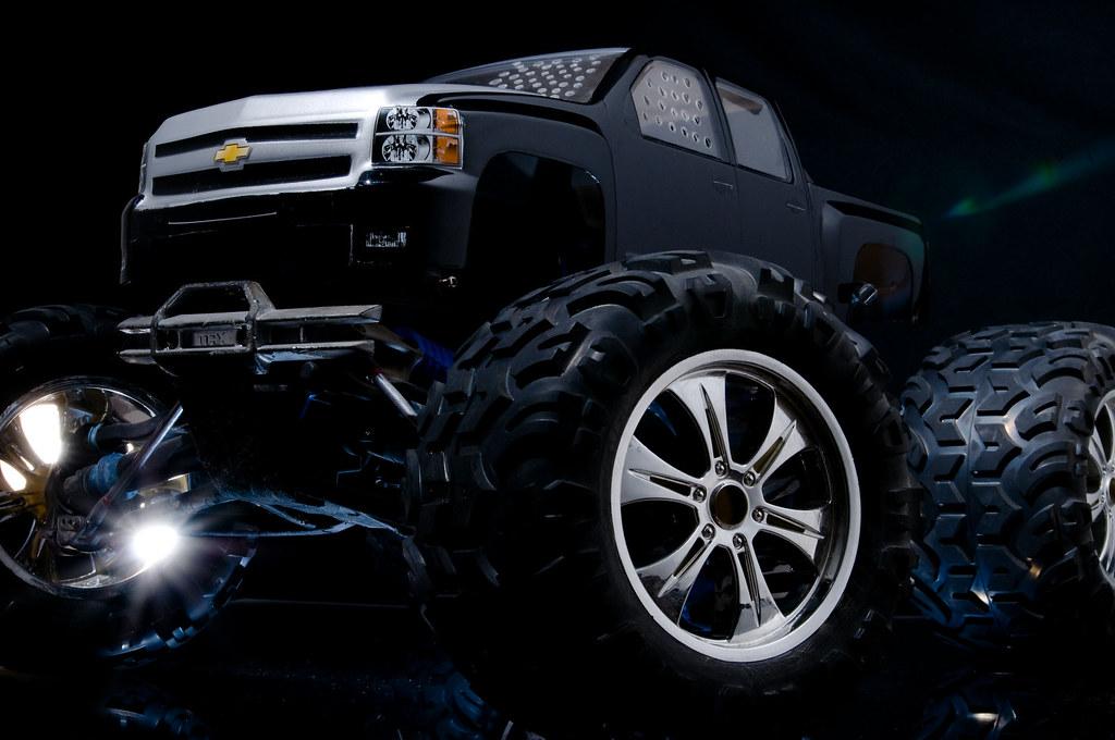 Chevy Sliverado Monster Truck