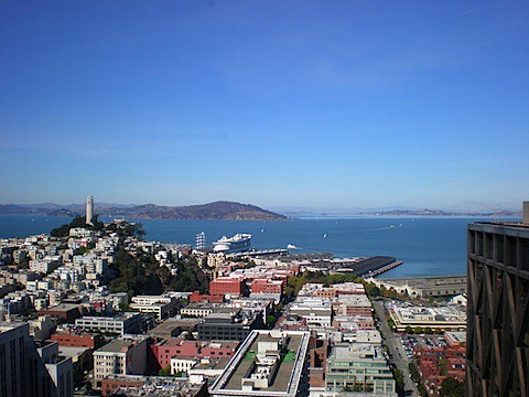 View from the Embarcadero Center
