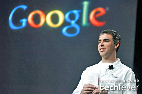 Keynote presentation of Google co-founder Larry Page by techfever