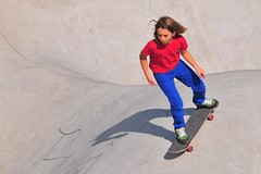 Beacon Hill skaters could be doing this in Jefferson Park very soon. Photo by Roger Price.