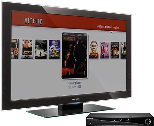 Netflix Samsung BD