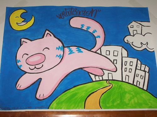 sweet cat in da¨ dream city