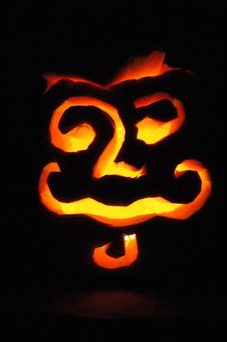 2008 jack o' lantern