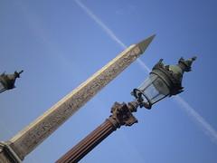 Paris - Paryius. Obelisk (dubliniete) Tags: blue sky paris concorde obelisk specobject