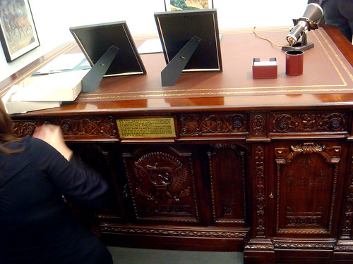 the presidents desk