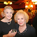 Two legendary women: Angela Lansbury and Doris Roberts at Terrence McNally's 70th birthday party, New York City