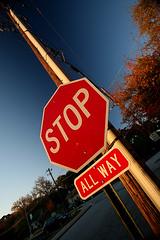 STOP (ALL WAY) (HamWithCam) Tags: atl dec hamwithcam hwc decatur 5d 1740l atlantta bwcpl