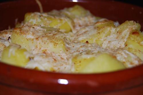 gegratineerde aardappeltjes