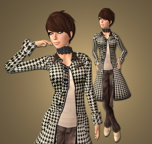 Yes... Houndstooth again