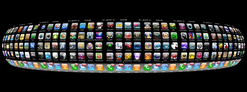 iPhone apps sphere by blakespot, on Flickr