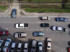 Vehicles Everywhere At Jalan Teluk Likas