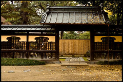Japan and gates. (TheJbot) Tags: autumn house japan japanese  jbot thejbot findthehiddenphotographerandwinaprize