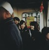 for venice lovers (hanna.bi) Tags: venice girls asian japanese holga candid vaporetto waterbus hannabi