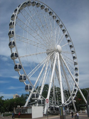 Ferris wheel, Parklands, Brisbane