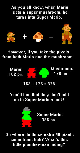 La conspiración de Super Mario