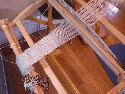 harp weaving view
