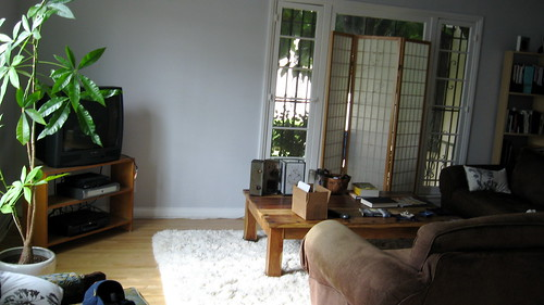 Our livingroom before