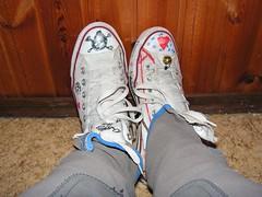 PICT0126 (njala91) Tags: girls skinny painted jeans chucks bemalte