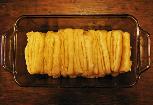 Pull-Apart Lemon-Scented Coffee Cake (Preparation)