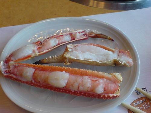 你拍攝的 螃蟹道樂-火烤。