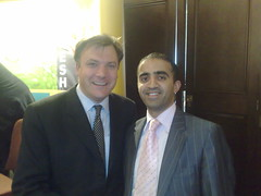 Ed Balls MP and Mohammed Shafiq by shafiqjcp