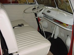 1965 VW Bus - inside front