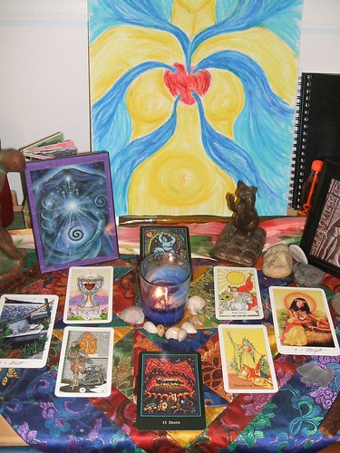 Healing Transition Altar for Lucky and Angela