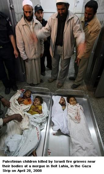 DEAD CHILDREN OF GAZA 3