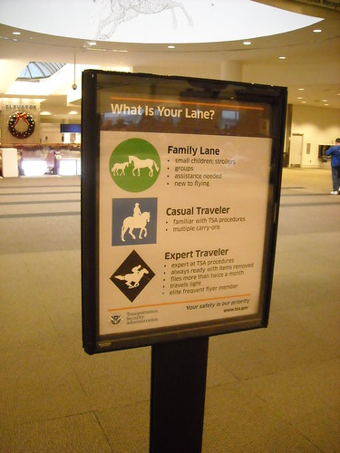 Louisville Intl-Standiford Field Security Sign
