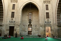 Al-Ashraf Bersbai Mosque|   (Hossam all line) Tags: architecture muslim islam egypt courtyard mosque cairo islamic  oldcairo islamicart   madrasa  islamiccairo muslimarchitecture  alsultan tchik   muslimregionarchitecture hossamallline madrasaalsultanelashrafbarsbay muslimregionarchitcture alashraf bersbai barsbai
