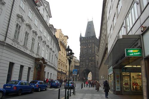 Calles de Praga Foto 2