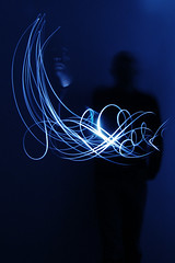 Me, my other me and what's going on between the 2 (laverrue) Tags: blue shadow lightpainting me dark blog moi bleu explore blogged darkside themes netvibes calligraphie explored thèmes bestofr theturntable